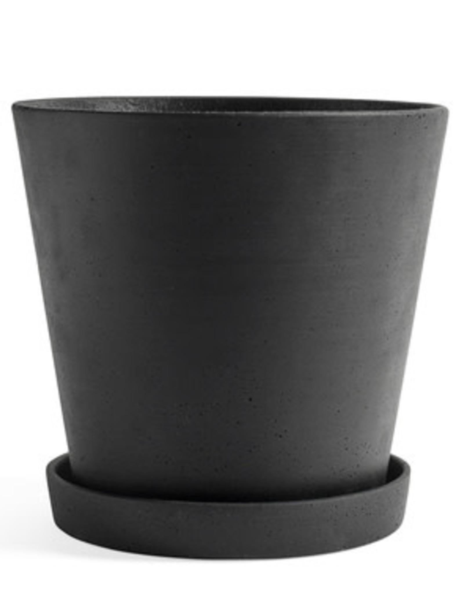 HAY HAY Flowerpot with Saucer XXL Black