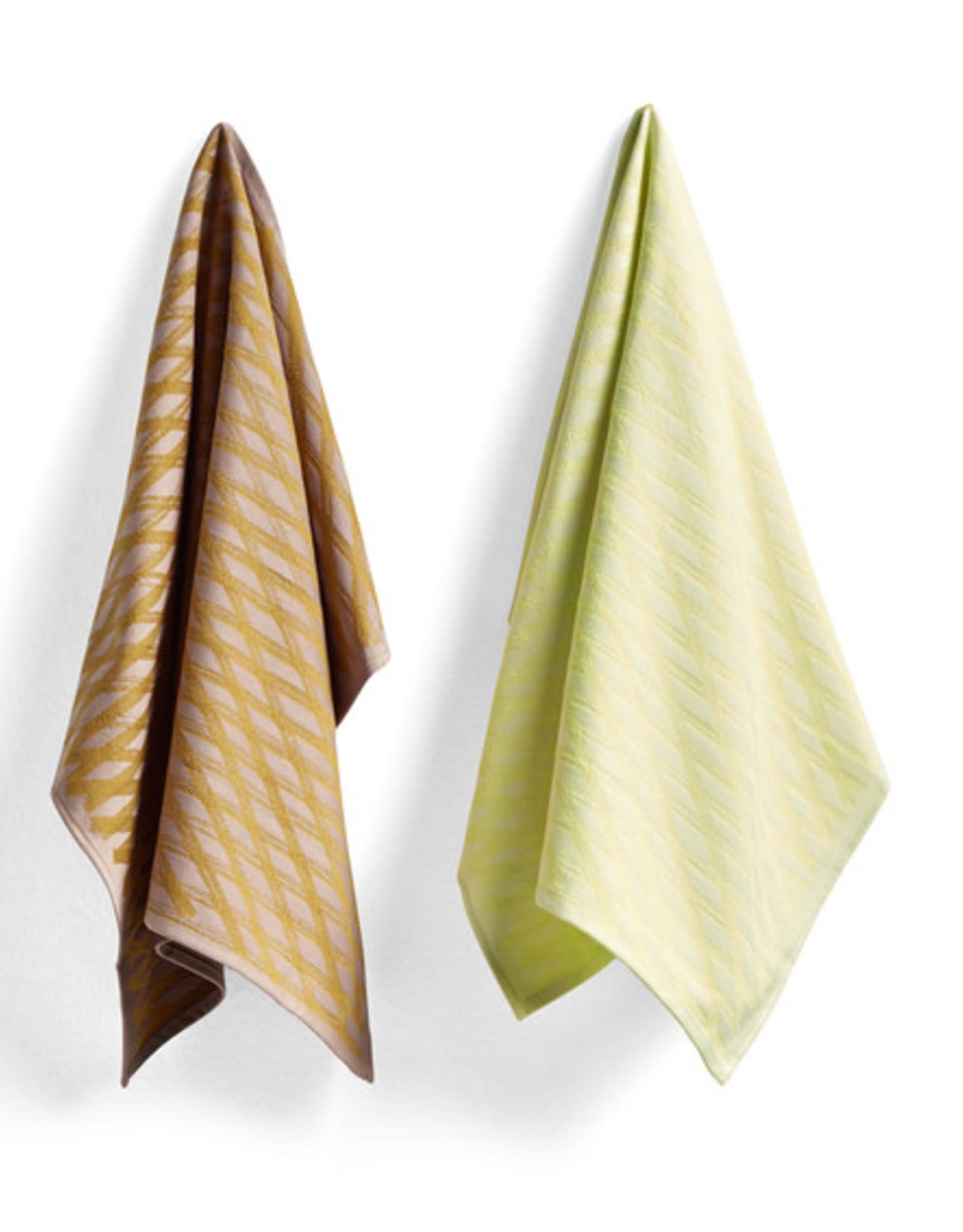 HAY HAY Tea Towel S&B Set of 2 NO1 Marker Diamond