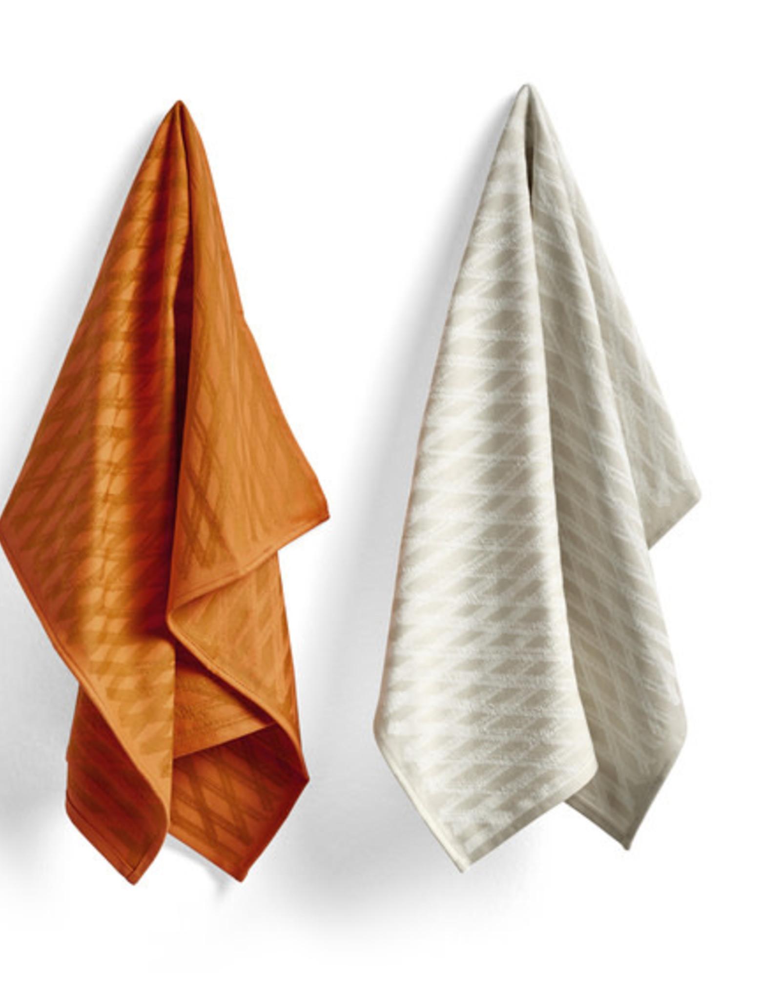 HAY HAY Tea Towel S&B Set of 2 NO2 Marker Diamond