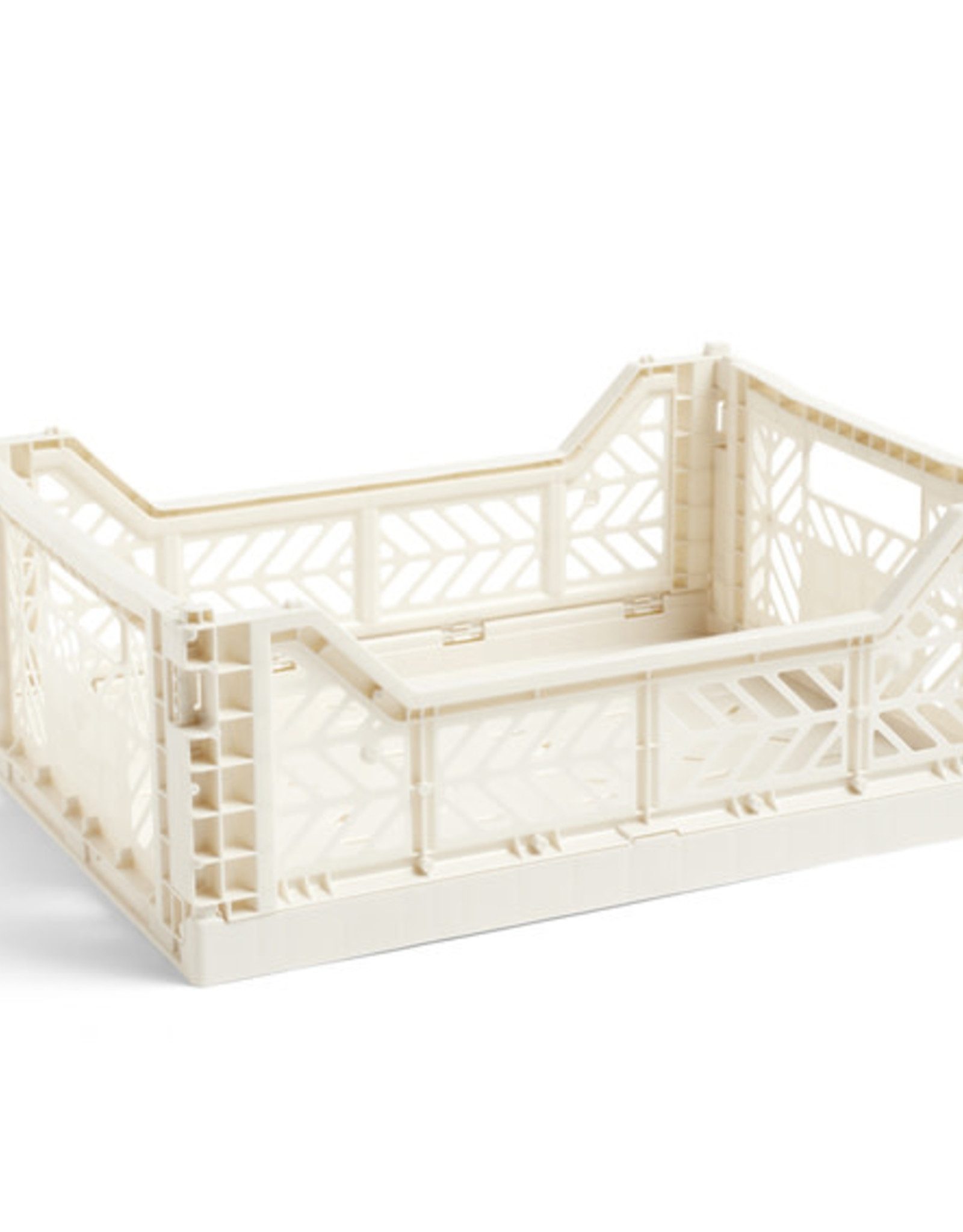 HAY HAY Colour Crate M Off-White