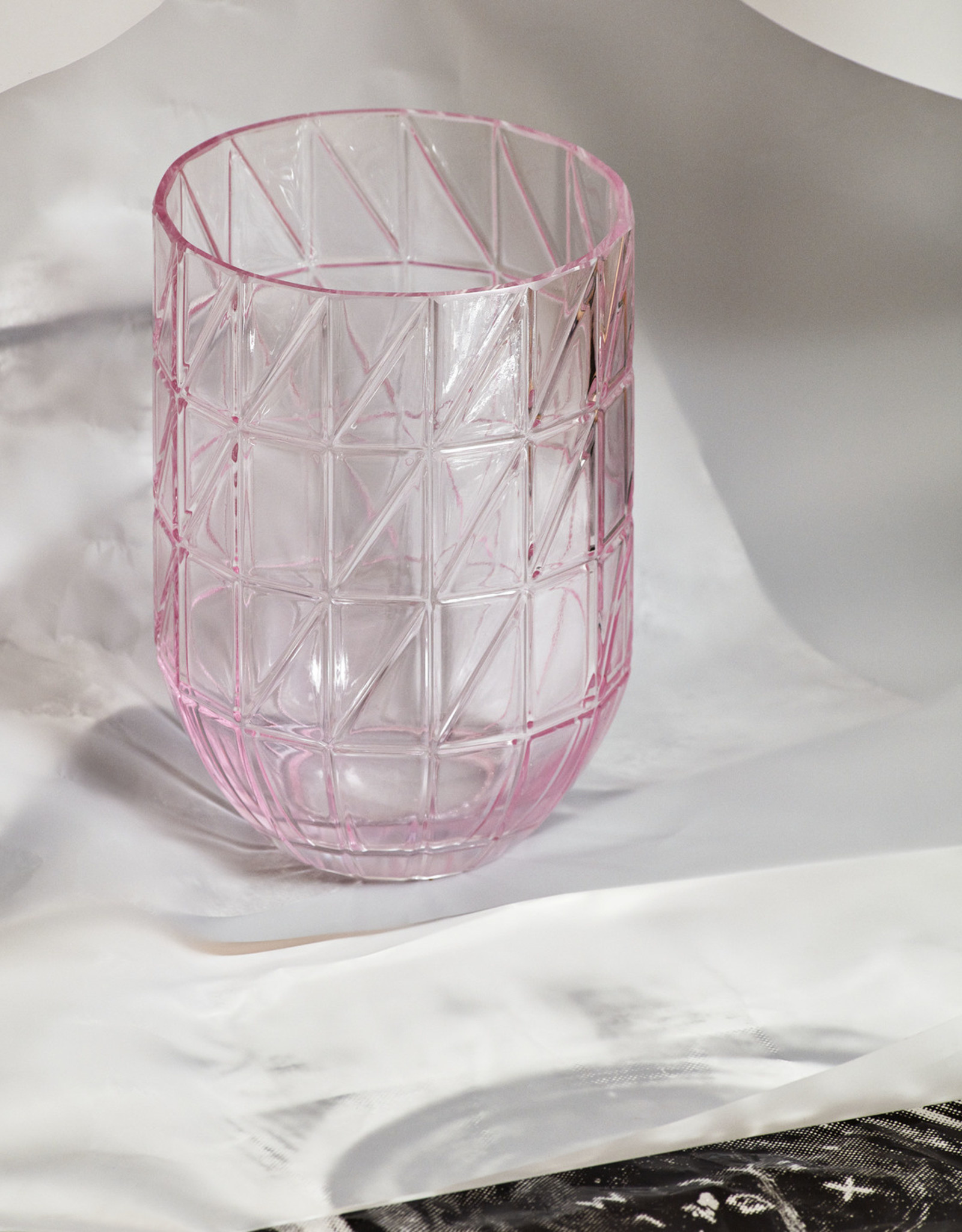 HAY HAY Colour Vase L transparent