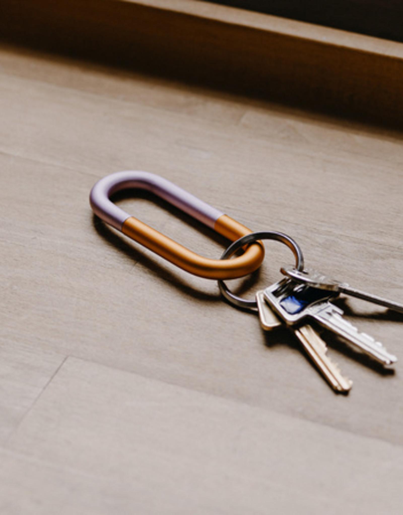 HAY HAY Cane Key Ring Blue