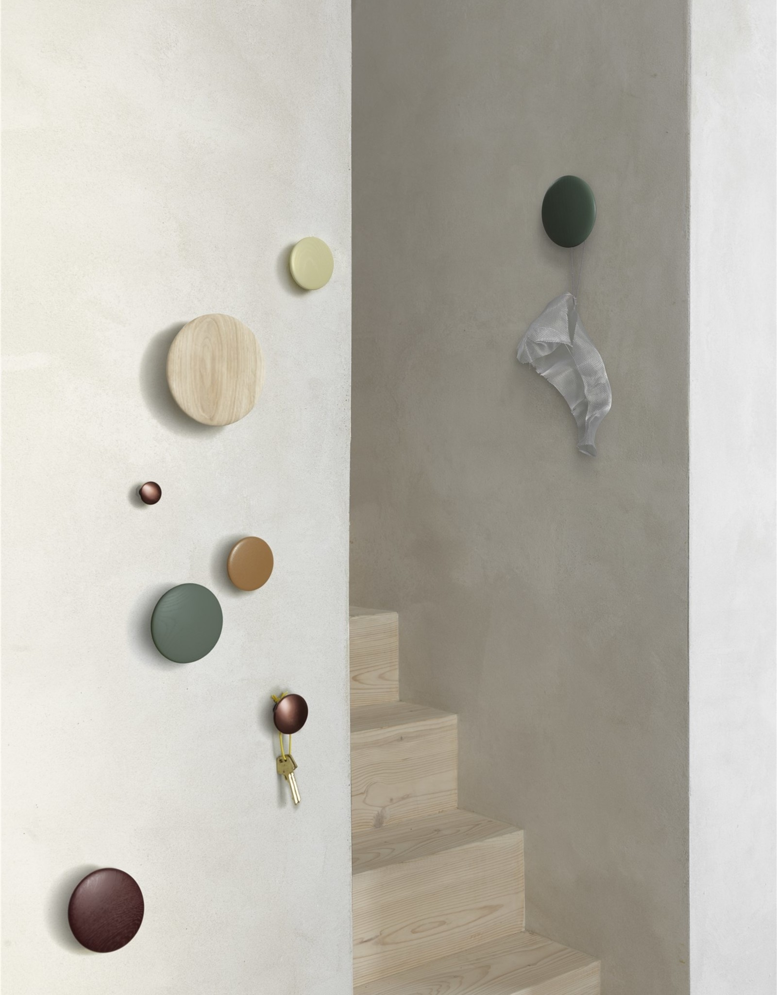 Muuto Muuto Dots Wood 13cm White