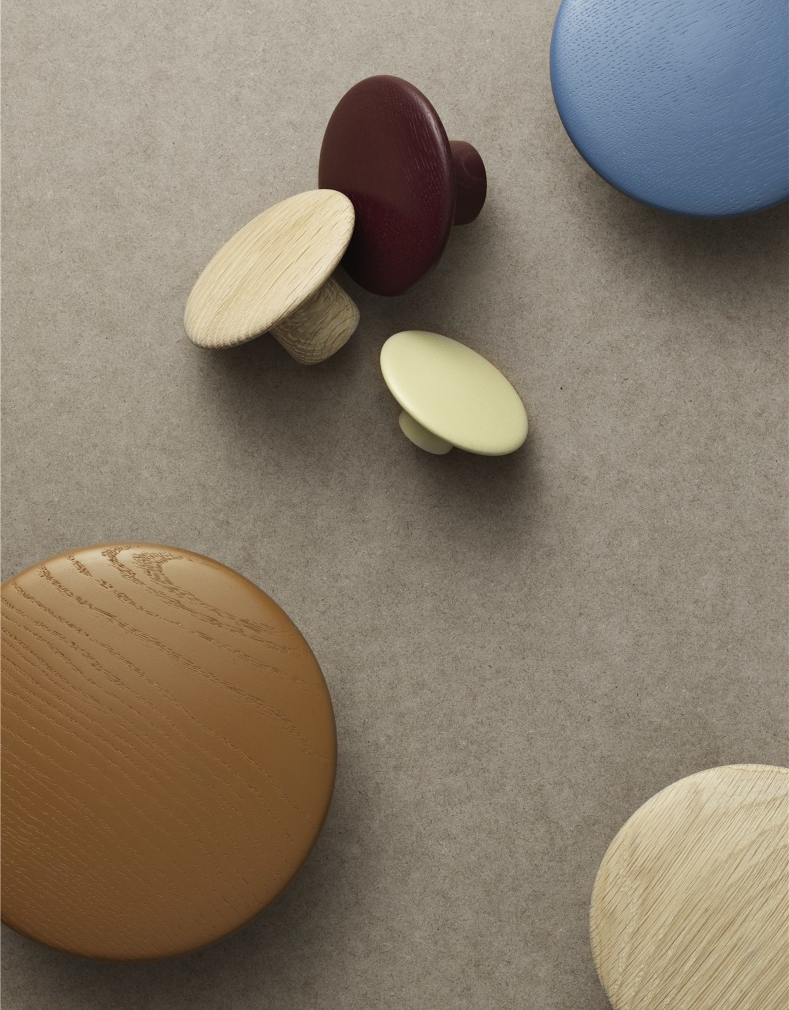 Muuto Muuto Dots Wood 13cm Natural Oak