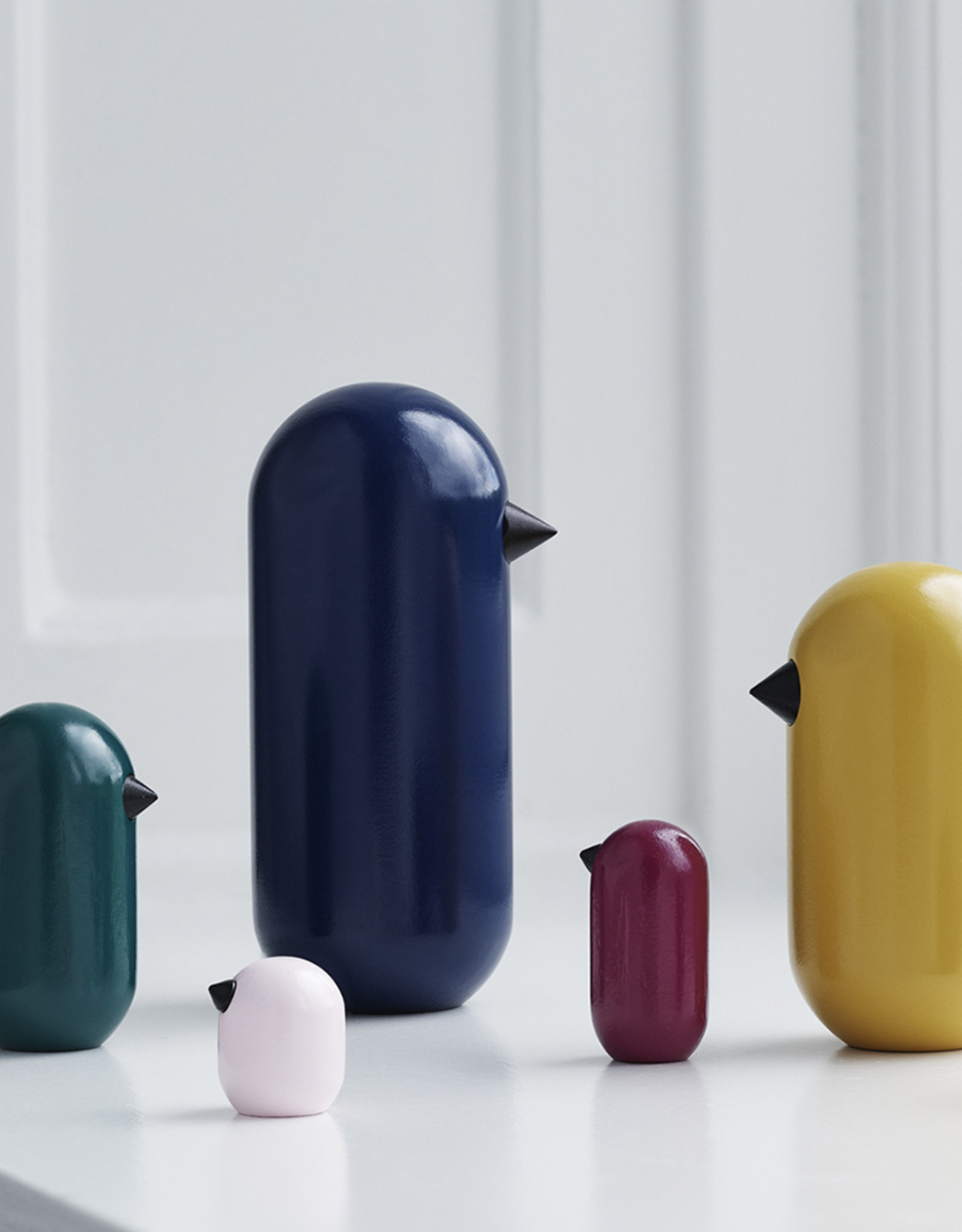 Normann Copenhagen Normann Little Bird 4,5 cm Ink Blue