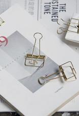 Monograph Monograph Clips Wire gold 33 mm 16 pcs/bag