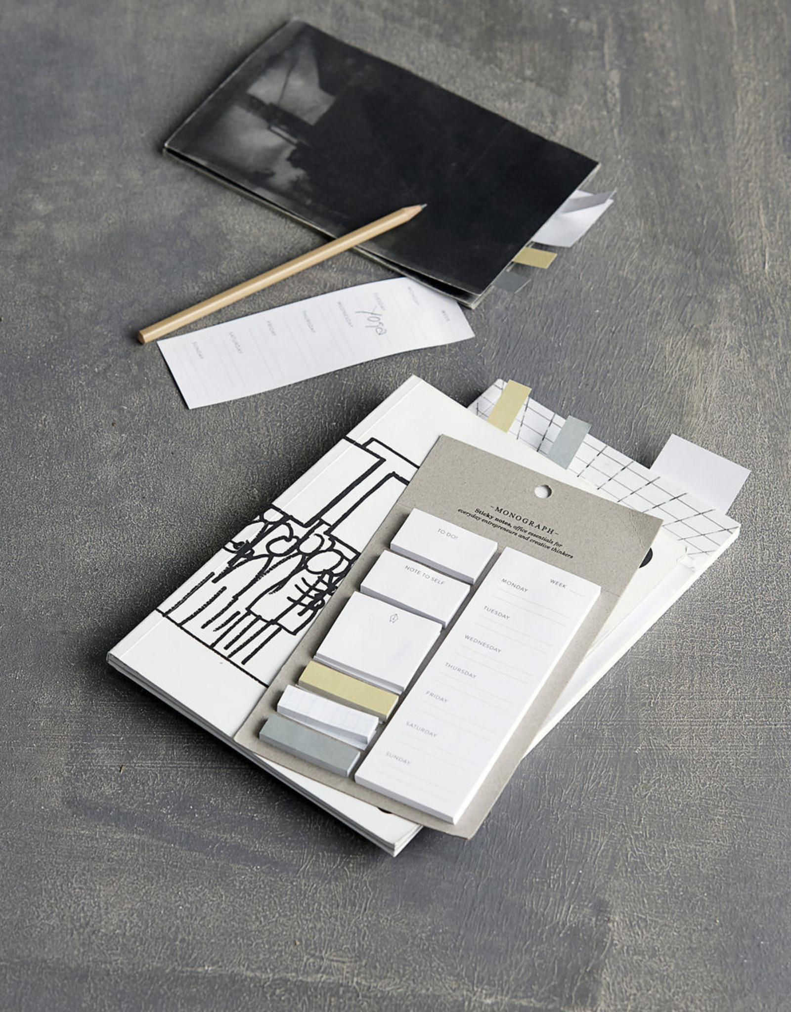 Monograph Monograph Sticky Notes 12x21,5