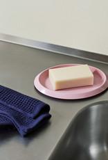 HAY HAY Waffle Tea Towels set of 2 cool rose/midnight blue