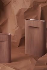 Muuto Muuto Ridge Vase H35 Terracotta