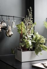 Ferm LIVING Ferm Living Plant Box Small Dark Grey