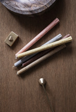 Ferm LIVING ferm LIVING Uno Candles Red Brown