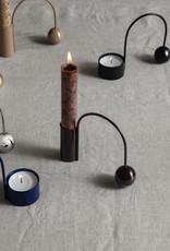 Ferm LIVING ferm LIVING Balance Candle Holder - dark aubergine