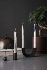 Ferm LIVING ferm LIVING Duo Candle dark blue