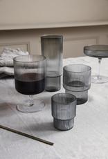 Ferm LIVING Ferm Living Ripple Long Drink Glasses (set of 4) clear