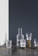 Ferm LIVING ferm LIVING Ripple Carafe clear