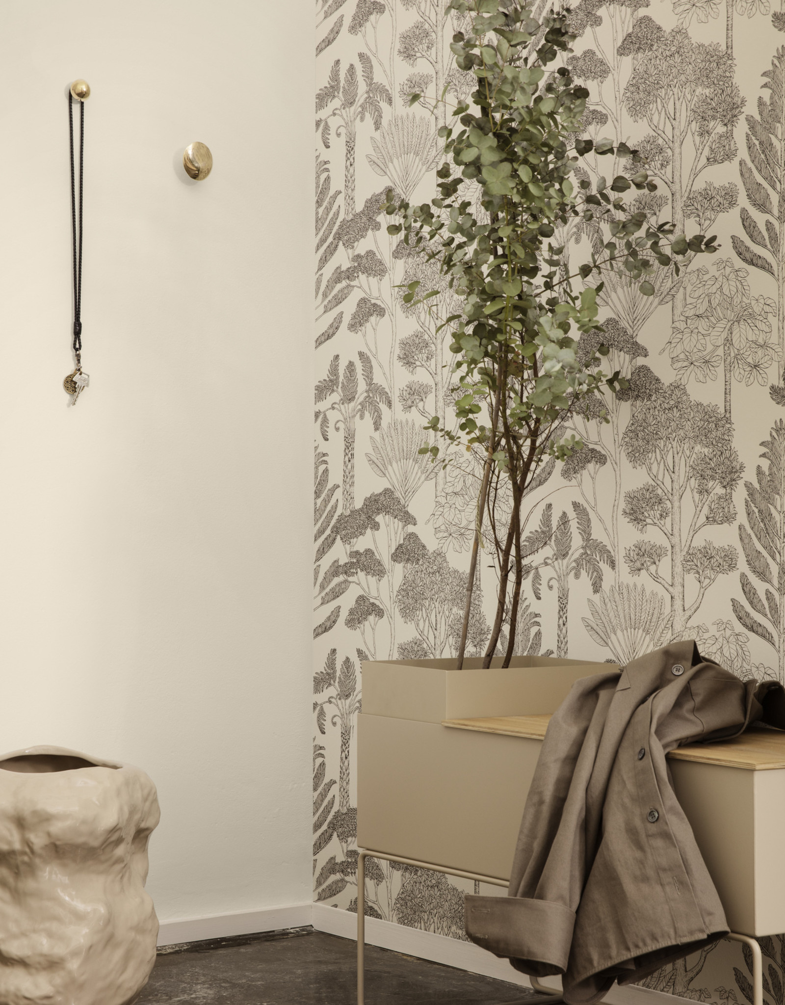 Ferm LIVING Ferm Living Plant Box Pot - Black