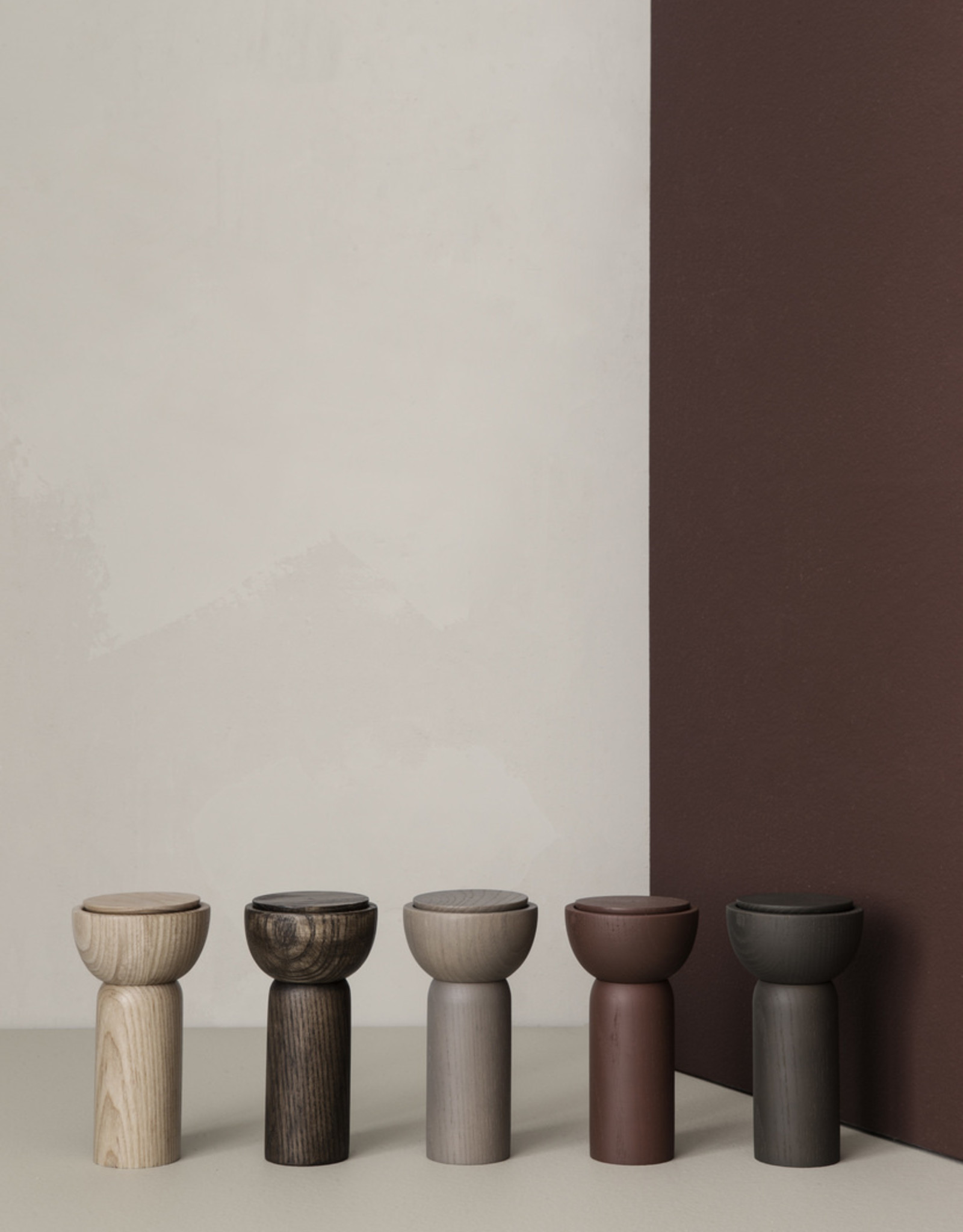 Ferm LIVING Ferm Living Drupe Mill - Grey Ash