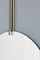 Moebe Moebe Wall Mirror Ø70 Brass