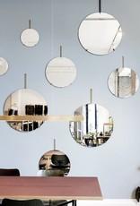 Moebe Moebe Wall Mirror Ø30 Brass