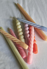 HAY HAY Candle Twist Set of 6 Pcs Caramel Peach Lavender