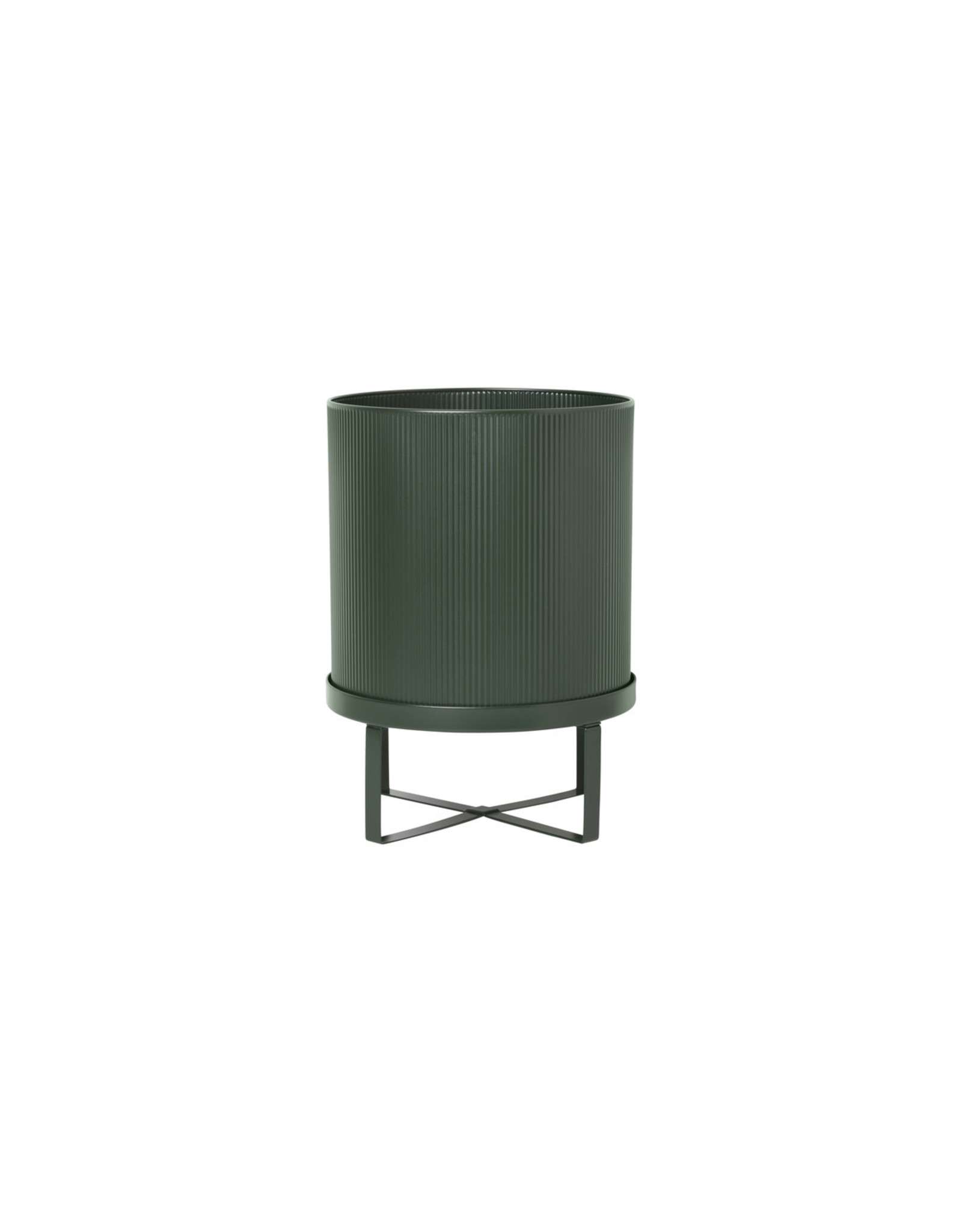 Ferm LIVING Ferm LIVING Bau Pot Large Dark Green