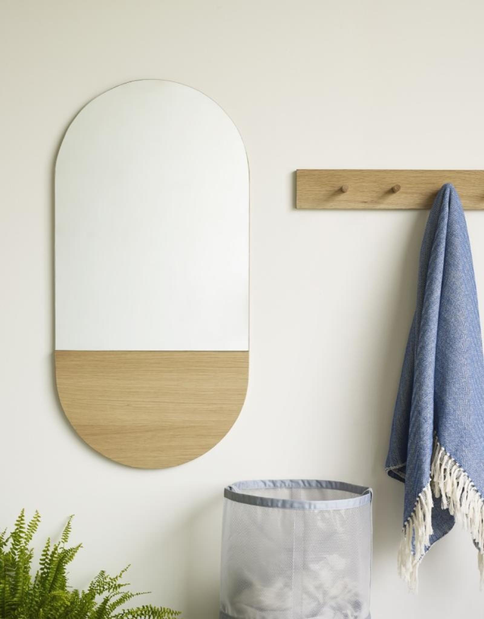 Hübsch Hübsch Mirror Oak 50x100