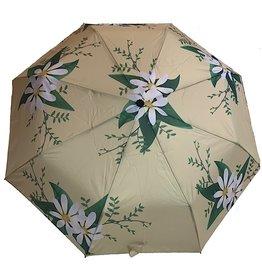 sense&purpose Schirm Gelb mit Blumen