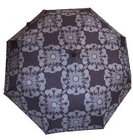 sense&purpose Schirm Schwarz mit grau