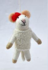 Filzmus Handgemacht gefilzt 100% Wolle