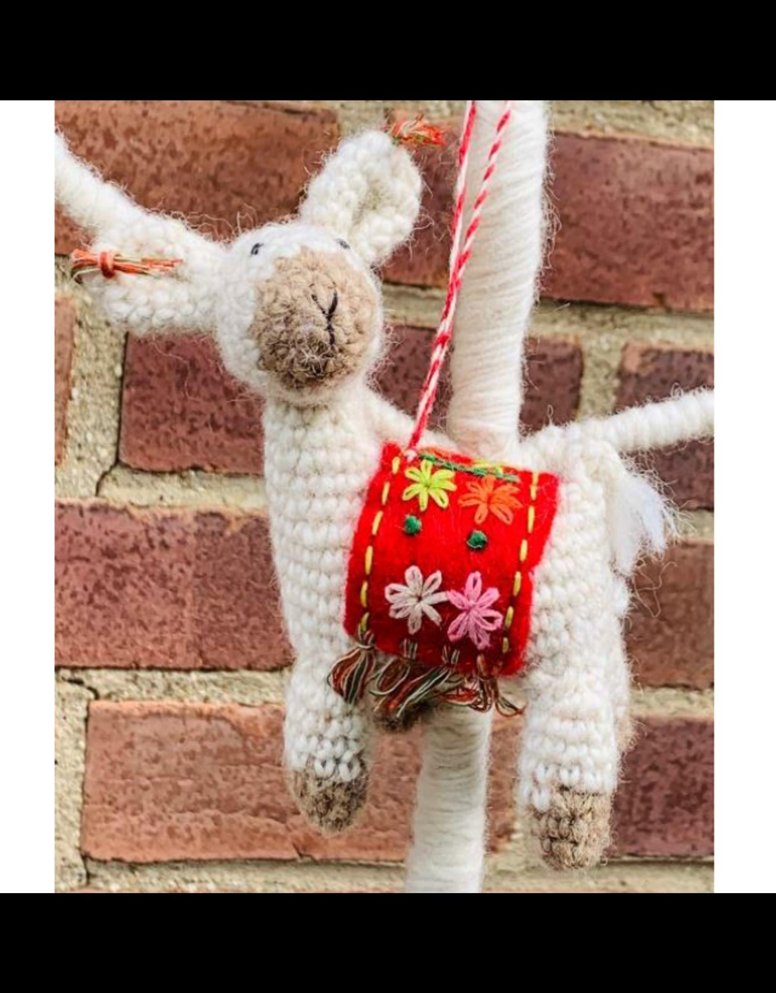 Stricklama Handgemacht Handgemacht 100& Wolle
