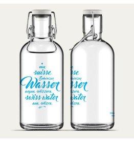 Fill Me Flasche Schweizer Wasser 1L