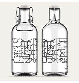 Flasche Art Deco Black 1L