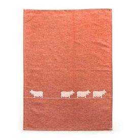 JA/UND Geschirrtuch Kühe