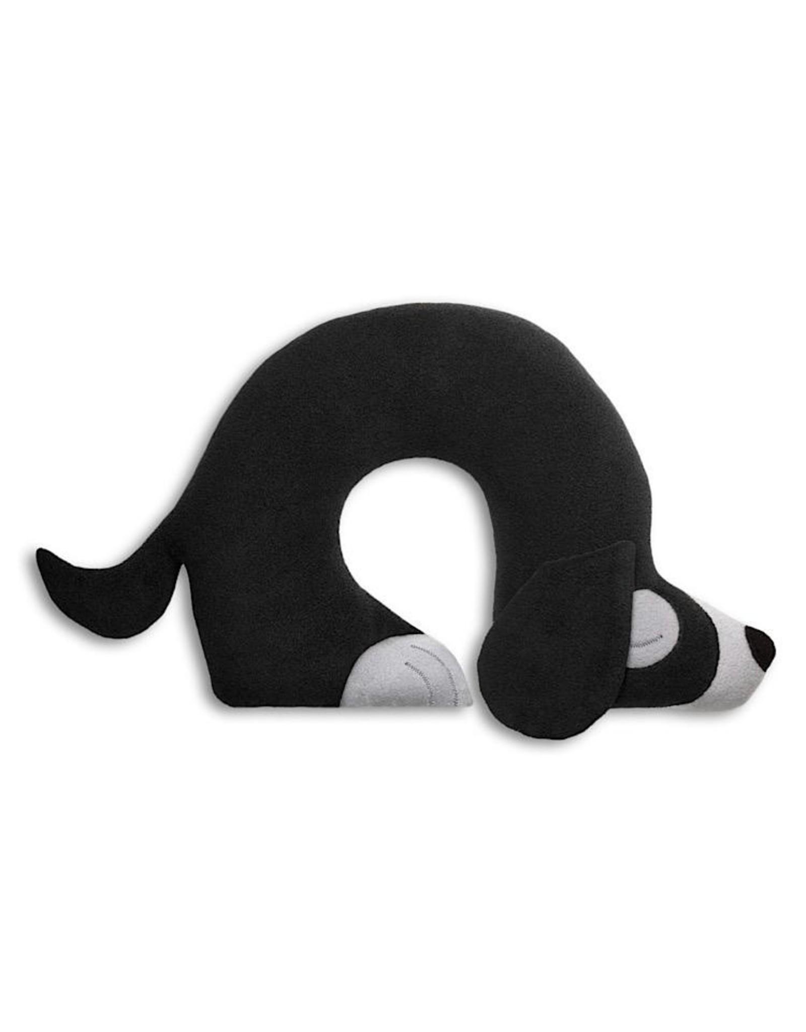 Nackenstützkissen Hund Ch mitternacht Polyesterwattenfüllung