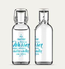 Flasche Schweizer Wasser 6dl