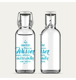 Fill Me Flasche Schweizer Wasser 6dl