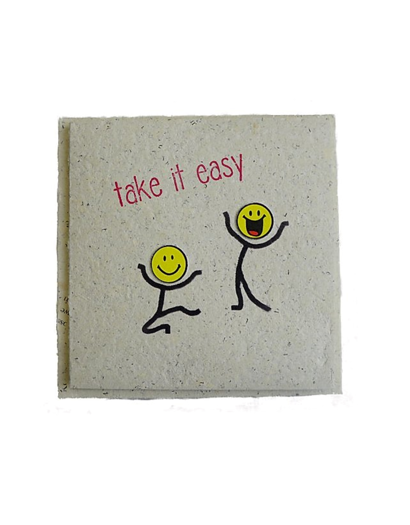 "InclusioPlus Smiley ""take it easy"""