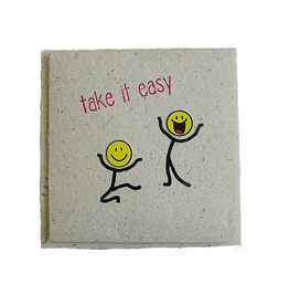 "InclusioPlus Smiley ""take it easy"""