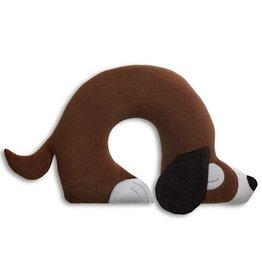 Nackenstützkissen Hund Charlie schokolade