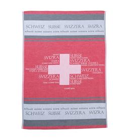 Rigotex Küchentuch Schweiz rot