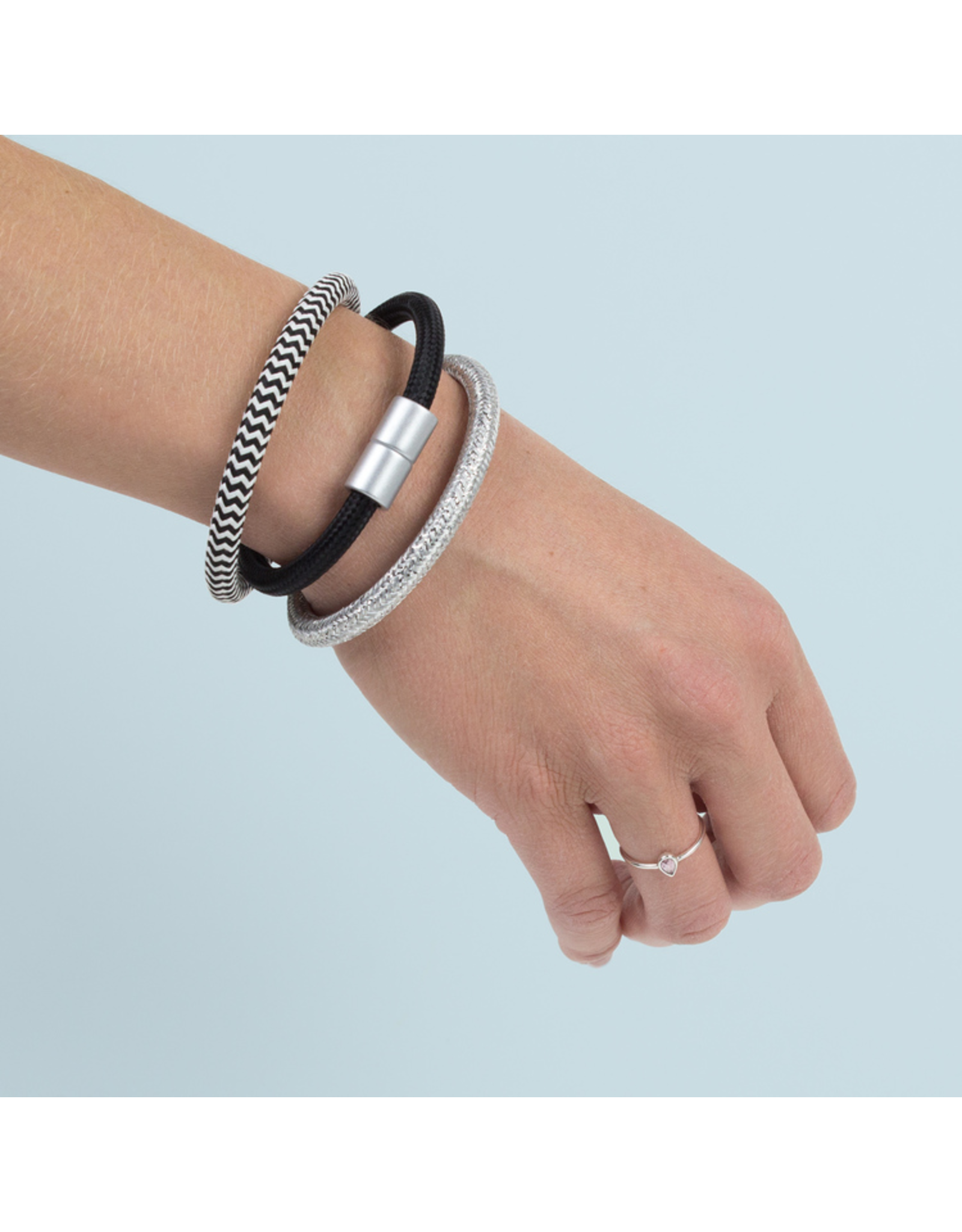 Fidea design Ka Belle Armband s blau/weiss