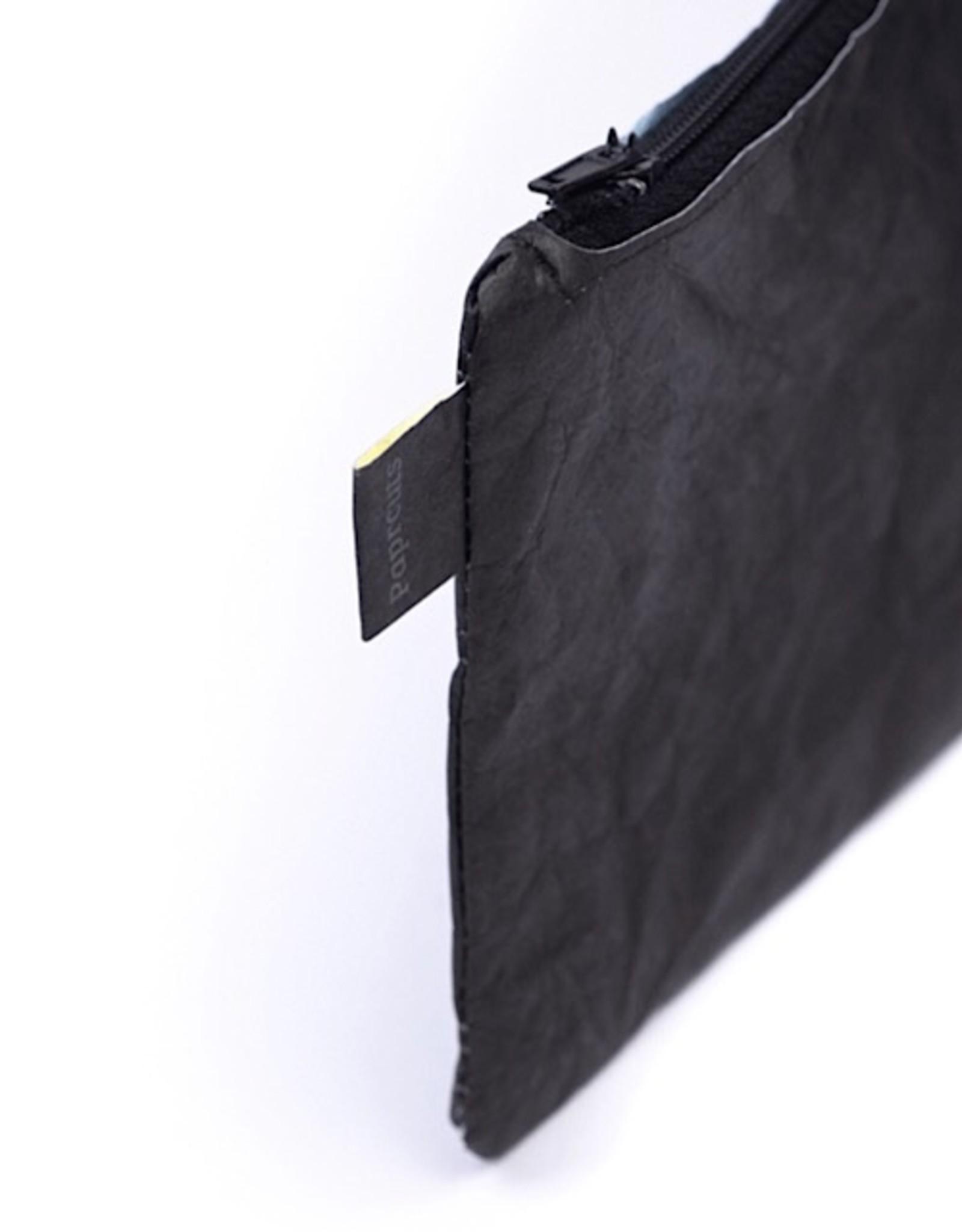 Paprcuts Maskenmäppchen Just black