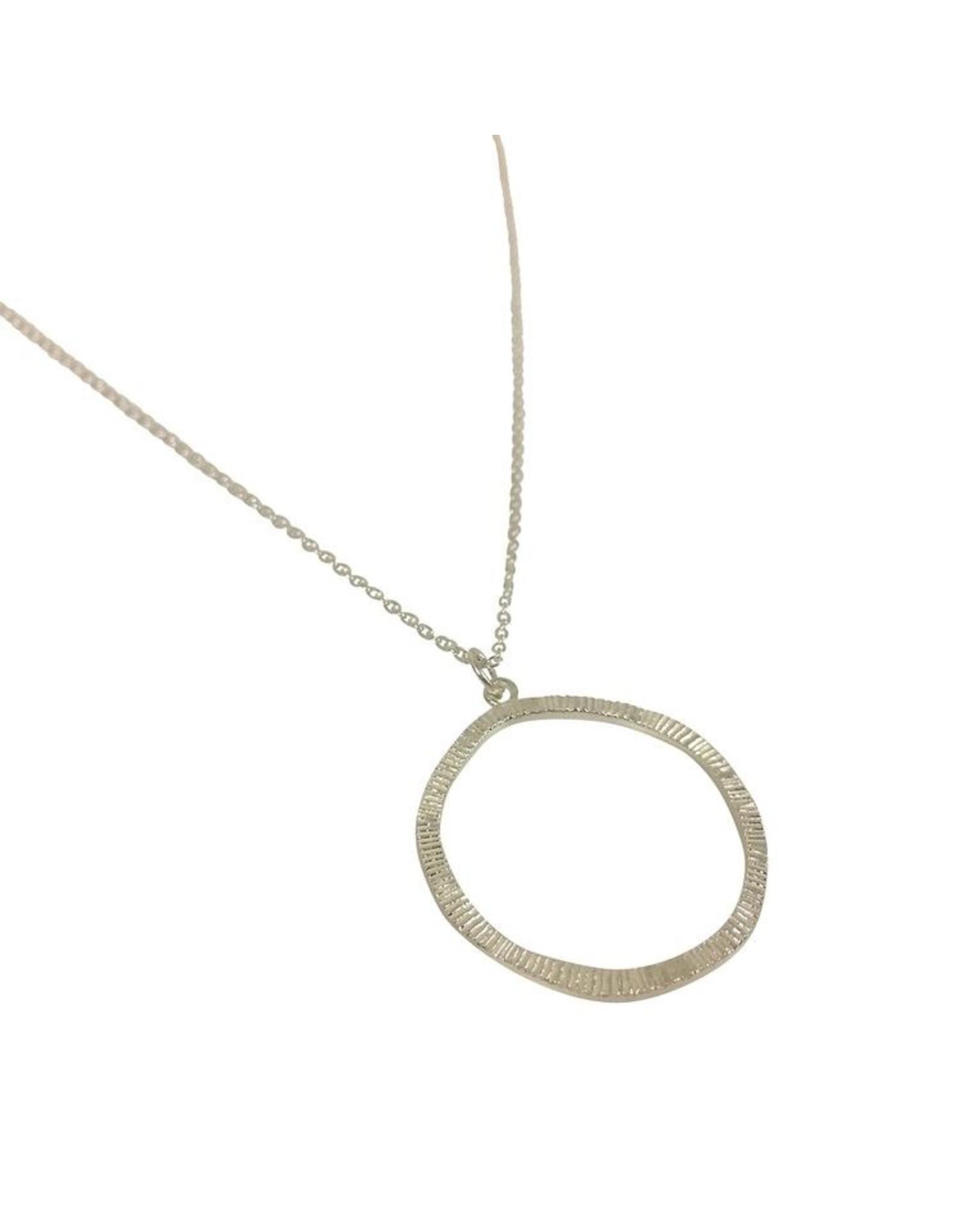 Halskette Hammeret Circle silber