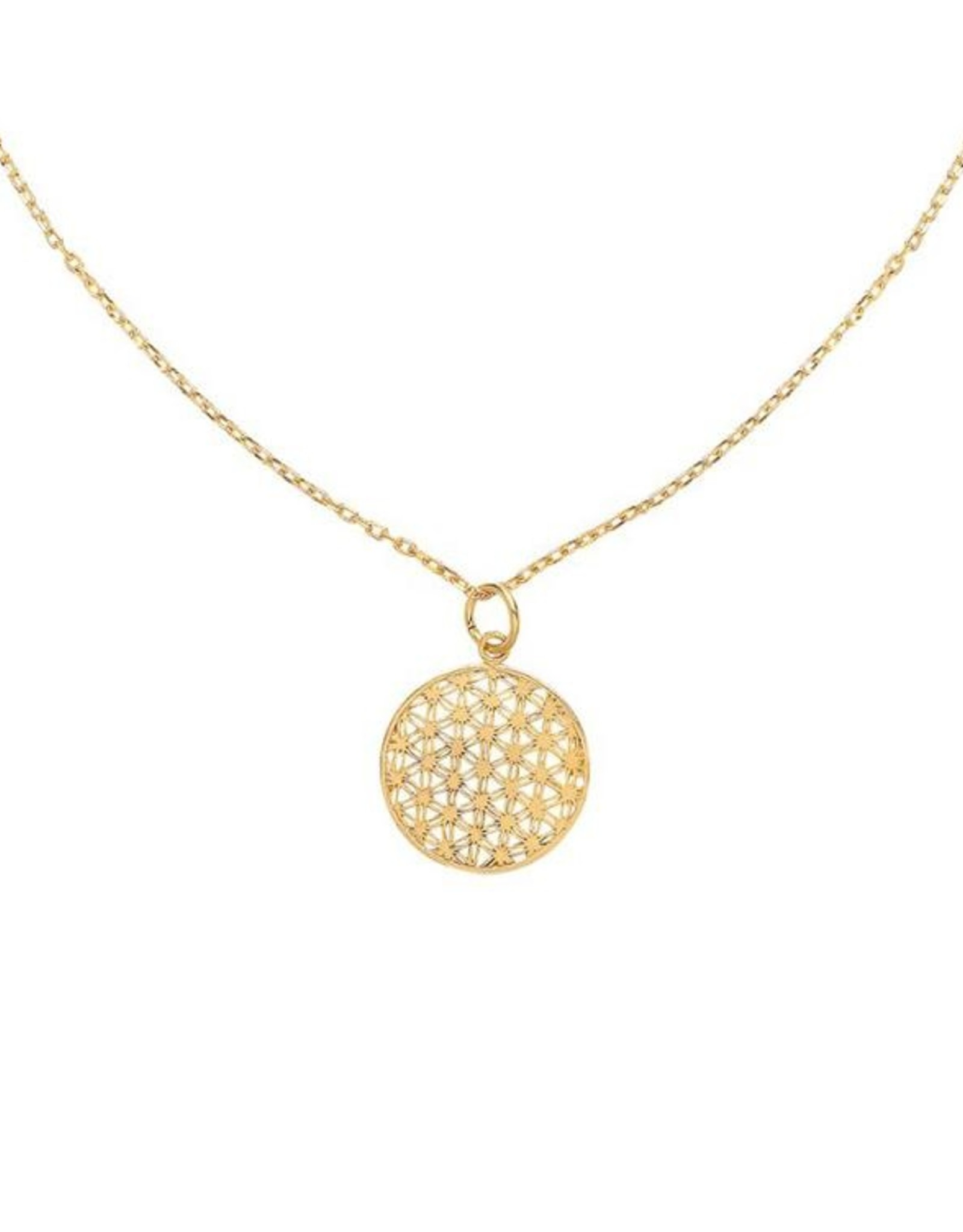 Halskette Flower Of Life gold