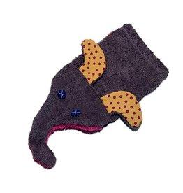 Tierwaschlappen Elefant