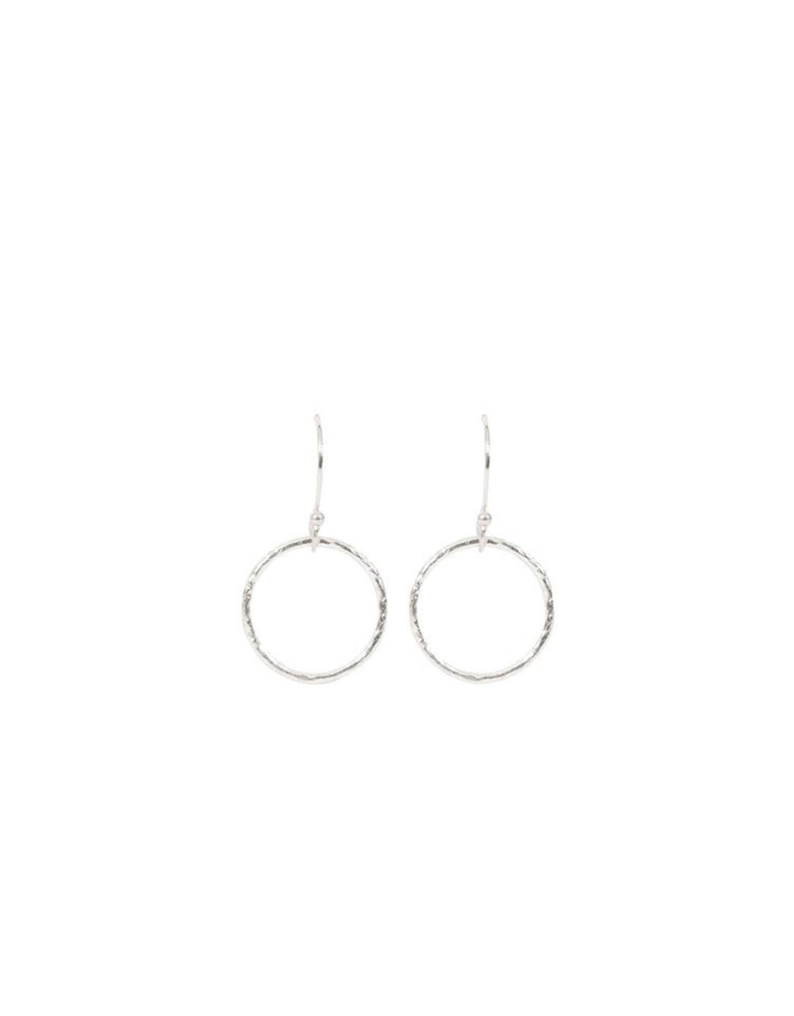 Kreolen Little Circles-Silber
