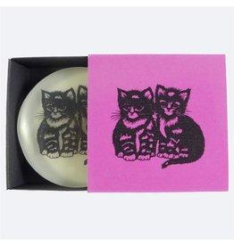 Scherenschnitt-Seife Katze