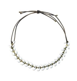 Armband Emaille - Weiss