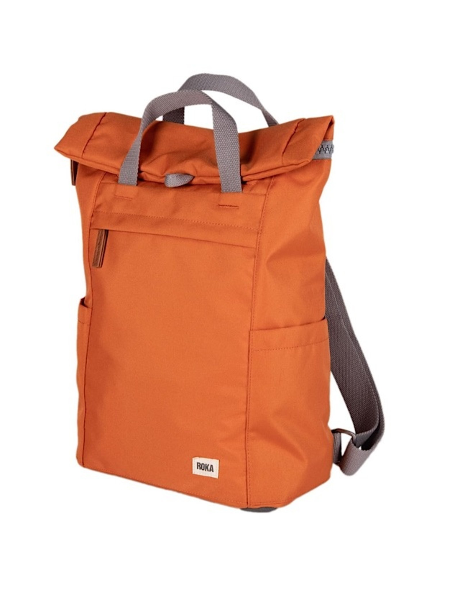 ROKA London Finchley A sustainable large atomic orange - grösse L