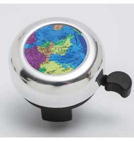 Veloglocke zu Weltkarte